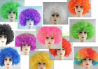 Sports Fanatic Wig Curly Hair Costume Accessory Fancy Dress Holloween Party WIG1