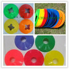 Set of 5 space Marker Cone Discs Football Soccer RUGBY FITTNESS training Sports