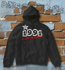 FELPA sweatshirt DATA DI NASCITA 1991 A STAR WAS BORN idea regalo humor