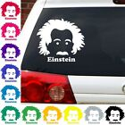 Einstein nerdy geeky science sheldon big bang theory decal sticker graphic