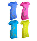 Ladies Garfield Printed Night Dress / Nightie Various Colours