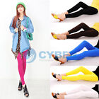 Korean Colorful Girls Cute Trendy Candy Color Pencil Pants Fit Skinny Stretch