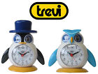 Trevi SL3045  Lilla & Lallo Bright Coloured Bird Design Kids Bedside Alarm Clock