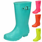 WHOLESALE Childrens Side Buckle Wellingtons (Wellies)   Sizes 10-2 x16prs X1198