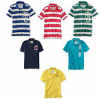 Aeropostale Lot of 5 Polo Shirts Mens AERO Polos Random Casual Shirts