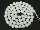 Natural White Alabaster Gemstone Faceted Round Beads 16'' 4mm 6mm 8mm 10mm 12mmStone - 179273