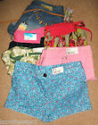 PRIMARK SIZE 8/10/12/18/20 SURFER / DENIM / COTTON / BEACH SHORTS/HOTPANTS  BNWT
