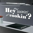 HEY.. KITCHEN DINING ROOM DECAL STENCIL QUOTE FUNNY WALL ART MURAL STICKER VINYL