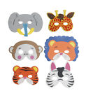 Wild Animal Face Mask Soft Fancy Dress Birthday Occasion Kids Party Bag Fun Toy