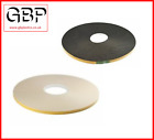 UPVC Window Glazing Tape White or Black, 1mm, 2mm, 3mm, 4mm, 5mm and 6mm