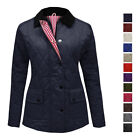 Kyпить NEW WOMENS LADIES QUILTED PADDED BUTTON ZIP JACKET COAT TOP PLUS SIZES 8-26 на еВаy.соm