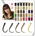"1.5""-wide Hightlight 100% clip in human hair extension 6pcs 30g 16""-28"" length"