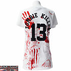 DARKSIDE CLOTHING ZOMBIE KILLER WOMENS T-SHIRT EVIL DEAD FLESH EATERS CREW BLOOD