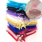 Luxury Organza Sheer Gift Candy Bags Jewelry Pouches Wedding