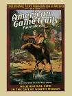 Riding Wild Moose Animal American Game Trails Film Vintage Poster Repro FREE S/H