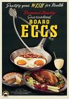 Eggs. Australian Advertisement  Poster by James Northfield, Marketing Victoria