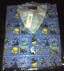 Halloween Print Scrub Top Spooky Squares by Melrose May-Hill Scrubs