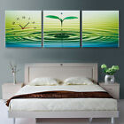 ripple of Spring Canvas Print Set High quality - Framed ready to hang