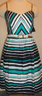 City Triangles Striped Dress Juniors Sizes 1, 3, 5, 7, 9, 11 Ladies Sundress