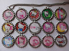 Hello Kitty Bottle Cap Necklace U Choose, gifts, stocking stuffer