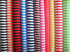 "1/2 inch Striped Polycotton fabric 45"" wide Low price Parties~Craft~Pirate"