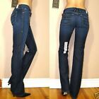 $225 Agave Sirena Slim Bootcut in Beverly Hills Cashmere X-Soft Dark Jeans 25