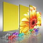 Floral Sunflower Flower Offset Canvas Print Large Picture Wall Art