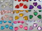 Scatter Table Confetti/Decorations/Gem/Crystal/Diamond 10mm Heart shaped Weddin