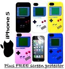 Teepee Online iPhone 5 Nintendo Gameboy Silicone Case Cover Multi Colours New