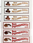 See's Candies * Crunchy Honeycomb Molasses Chips * Peppermints Chocolate Candy *