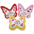NAN SENTIMENT BUTTERFLY DESIGN CUSHION GREAT BIRTHDAY / CHRISTMAS GIFT NEW