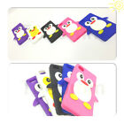 PENGUIN SILICONE CASE COVER FITS APPLE IPOD TOUCH 5TH GEN FREE SCREEN PROTECTOR