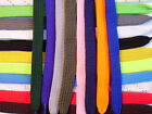 Flat Shoelace 115cm x 8mm Laces for shoe boot trainers: free UK post. 19 colours