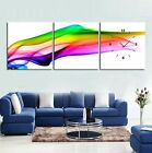 silky light trace modern Canvas Print Set High quality-Framed ready to hang