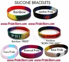 Gay Pride Silicone Bracelets WHOLESALE Lot - LGBT Bear Leather Born this Way