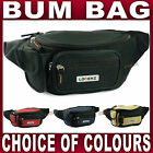 Mens Ladies Bum bag waist bag fanny pack belly bag 4 colours travel money belt