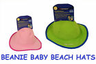NALU BEANIE BEACH HAT BABY UV PROTECTIVE SAFARI HATS SPF 40 SUN 0-2  KIDS SUMMER
