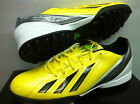 ADIDAS F10 TRX TF ASTRO TURF YELLOW FOOTBALL SOCCER SHOES TRAINERS