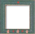 """MILL HILL 6"""" X 6"""" HAND PAINTED FRAME Variety of Colors YOUR CHOICE!"""