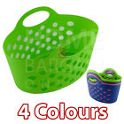 NEW PLASTIC PEG BASKET CLEANING LAUNDRY WINDPROOF WASHING LINE CLOTHES PEGS BAG