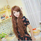 New Style Women Girls Sexy Long Fashion Small Curly Full Wavy Hair Wig 2 Colors