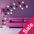 Up to 40 butterfly and flowers wall stickers wall art 4 sizes available car