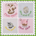 PERSONALISED BABY FLEECE EMBROIDERED NAME BLANKET GIRL BOY NEW GIFT CHRISTENING!