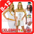 New Ladies Egyptian Greek Goddess Queen Cleopatra Fancy Dress Up Costume Party