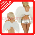 New Angel Fairy Feather Wings Adults Kids Ladies Mens Fancy Dress Costume Party