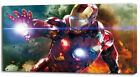 3 Sizes- IRON MAN CANVAS PRINT The Avengers Home Wall Decor Art Movie Boys Huge