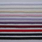 1 metre 10mm Thick Loop edged elastic- different colours available