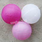 "VALUE - 36Mix (10""12"") White&Pink&Hotpink Paper LanternsParty Wedding Decoration"