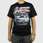 Ford Shelby Cobra Mustang T-Shirt Black Car Auto 1955 1956 1969 GT 350 BABA