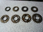 """Track Sprocket 1/2x1/8"""" Fixed Single Speed Various Sizes Classic Type Old Stock"""